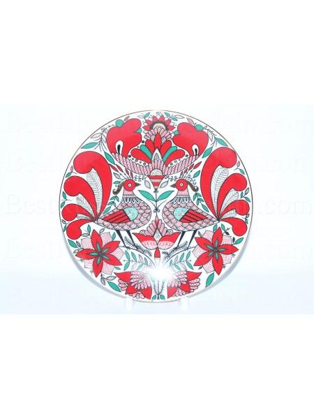 Декоративная тарелка рис. Сказочная птица, ф. Эллипс