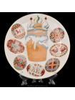Декоративная тарелка рис. Пасха, ф. Эллипс