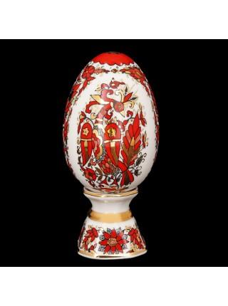 Яйцо пасхальное рис. Русский орнамент, форма Яйцо