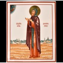 Пласт рис. Святой Даниил Московский, форма Прямоугольная