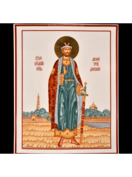 Пласт рис. Святой Дмитрий Донской, форма Прямоугольная