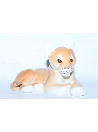 Скульптура Львёнок лежащий