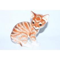 Скульптура Оранжевая Кошка