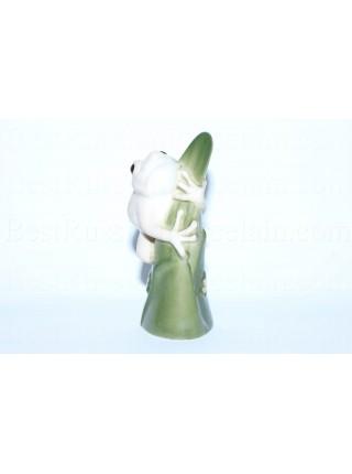 Скульптура Лягушка на листике (мраморная)