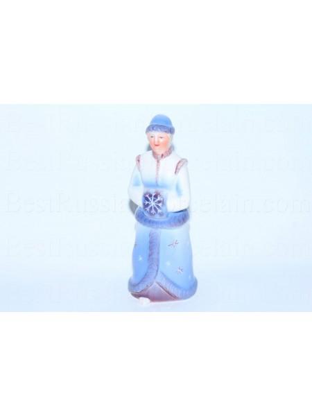 Скульптура Снегурочка, рис. Вьюга (Синяя)