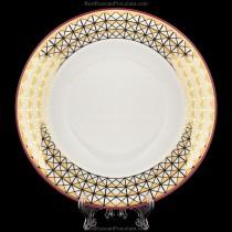 Глубокая тарелка рис. Замоскворечье  224 мм, ф. Глубокая