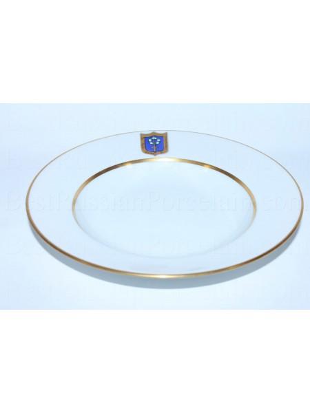 Глубокая тарелка рис. Коттеджный  224 мм, ф. Европейская