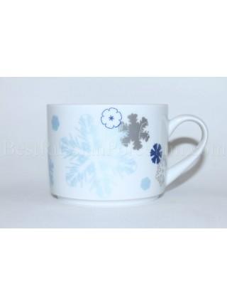 Чашка рис. Снежинки, форма Баланс