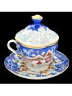 Чашка с блюдцем и крышкой рис. Зимняя Сказка, ф. Подарочная-2